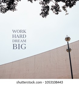 Inspiration motivation quote about work