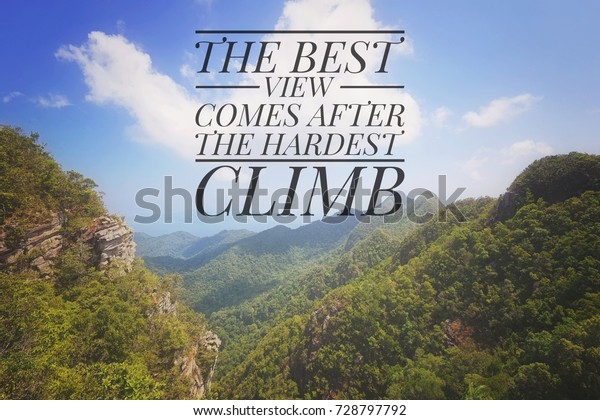 inspiration motivational quotes on blue sky stock photo edit now