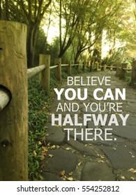 Inspiration quote.