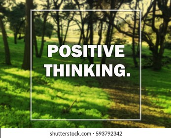 Royalty Free Positive Thinking Images Stock Photos Vectors