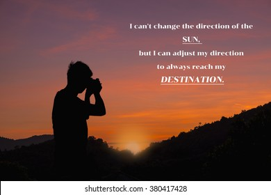 Inspirational Quotes For Boys Stock Photos Images Photography
