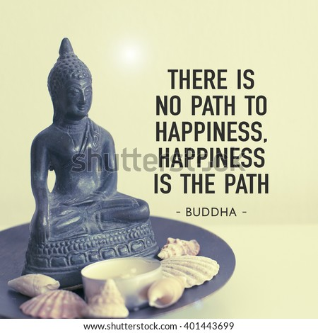 Inspirational Image There No Path Happiness Stock Photo Edit Now
