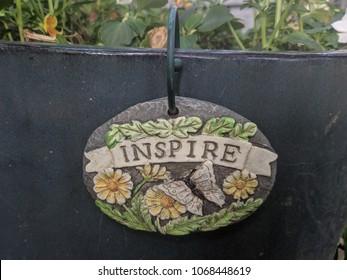 Inspirational Inspire Sign