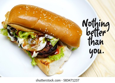 Burger Quote Stock Photos Images Photography Shutterstock