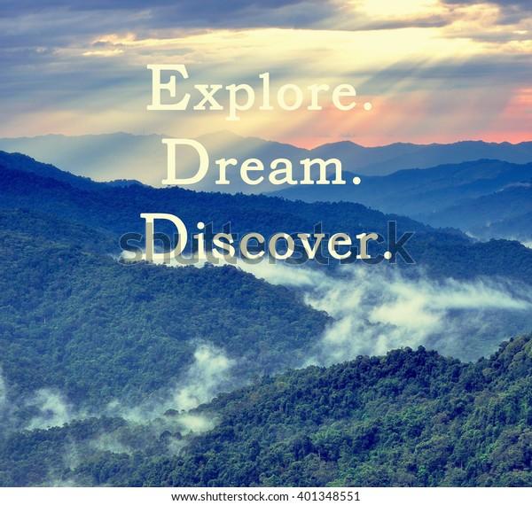 Inspirational Motivational Travel Quotes Phrase Explore ...