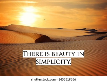 Inspirational Quote about beauty and life