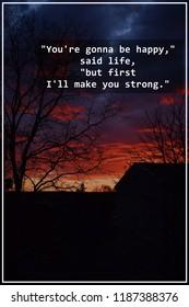 Beautifull Sunset Scene Stock Photo Edit Now 1114361894 Shutterstock