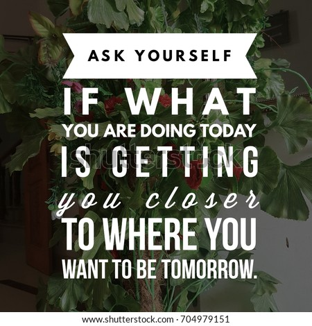 Inspirational Quote Best Motivational Quotes Sayings Stockfoto Nu