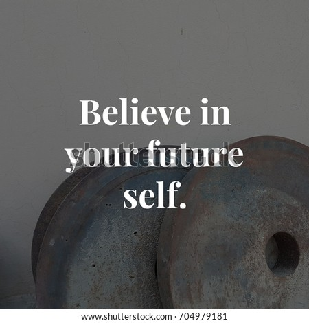 Inspirational Quote Best Motivational Quotes Sayings Stockfoto