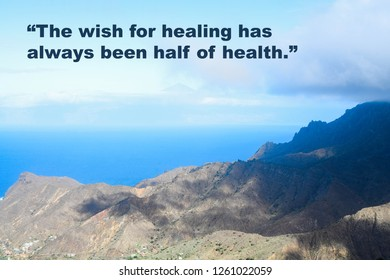 9fd9f4ae07683 Inspirational quote by the ancient Roman philosopher Seneca on nature  background. Original photograph also in