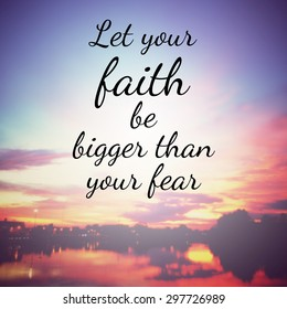 Royalty-Free Faith Quotes Stock Images, Photos & Vectors ...
