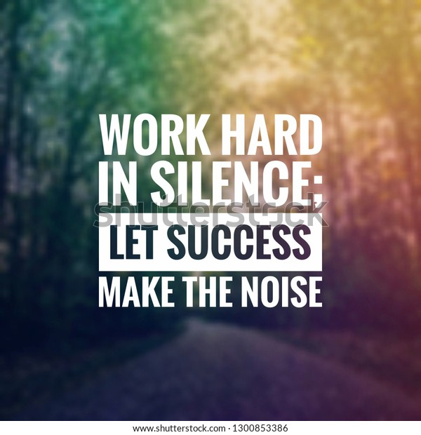 Inspirational Quotes Life Success Stock Photo (Edit Now ...