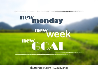 Monday Blessing Quotes Images Stock Photos Vectors Shutterstock