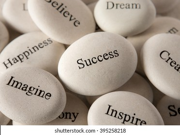 Inspirational stones - Success