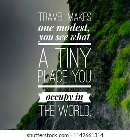 Inspirational Travel Quote
