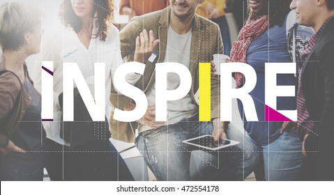 Inspire Ideas Creative People Graphic Concept