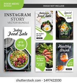 Instagram social media stories templates