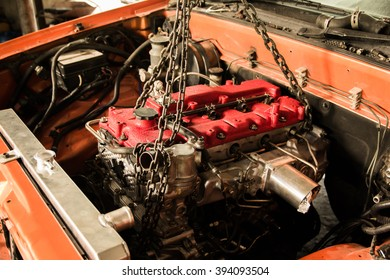 install engine car modify
