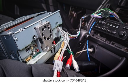 install new 2 din radio in the old car
