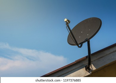 install Satellite dish on the roof