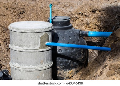 Install a septic tank.