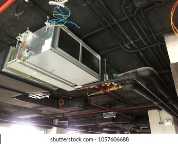 Installation of Air handing unit or Fan coil unit in loft office