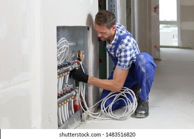 A Installation distributor underfloor heating