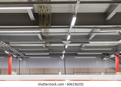 installation of lighting fixtures suspended ceiling and Lighting equipment