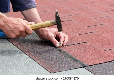 Installation of roof asphalt shingles
