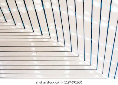 Installation ventilation roof ceiling work