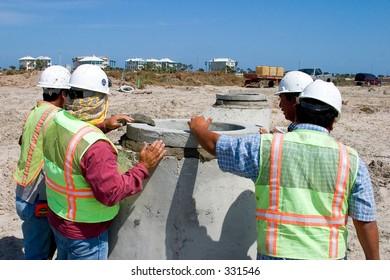 Installing a Manhole