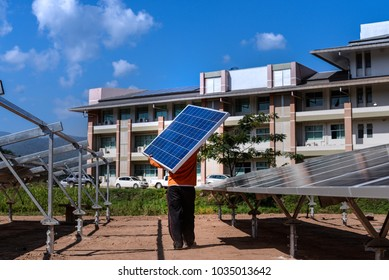 Installing a Solar Cell