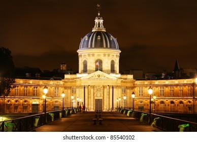 The Institut de France building in Paris