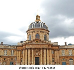 The Institut de France in Paris, France