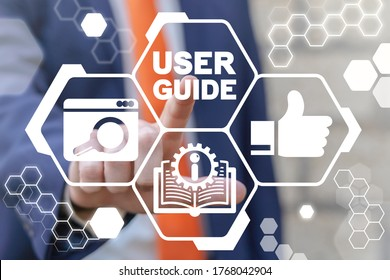 Instruction Document Business Service. User Guide Book Concept. Manual Handbook.
