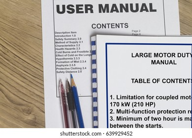 Instruction Manual- many uses in the oil and gas industry.