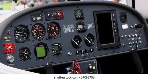 Airplane Instrument Panel Images, Stock Photos & Vectors