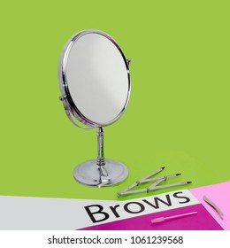 instruments for correction and coloring of eyebrows, permanentmakeup