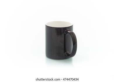 insulated cups for sublimation of different shapes and colors on a white background