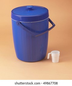 Insulated rice container