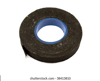 Insulating electric tape isolated on a white background