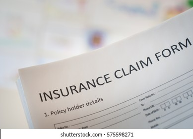 insurance claim form to fill