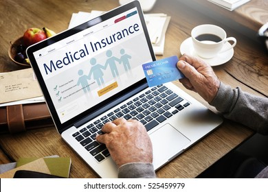 Insurance Coverage Mix Reimbursement Protection Concept