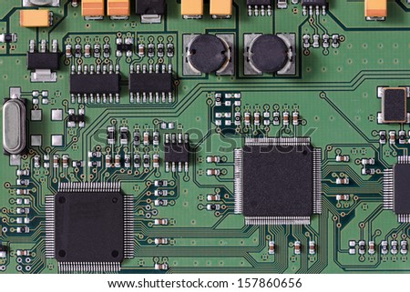 Brilliant Integrated Electronic Circuit Board Schematic Conductors Stock Photo Wiring Cloud Brecesaoduqqnet