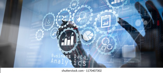 Intelligence (BI) and business analytics (BA) with key performance indicators (KPI) dashboard concept.business documents on office table with smart phone and digital tablet and graph business