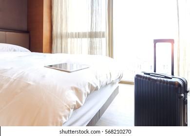 Inter views of modern hotel room