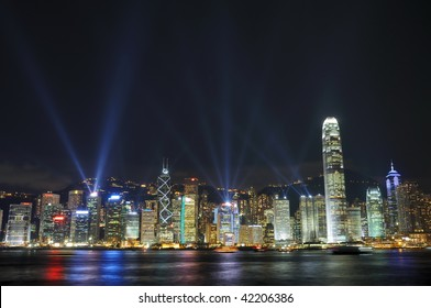 """Interactive lights show """"A Symphony of Lights"""" in Hong Kong"""
