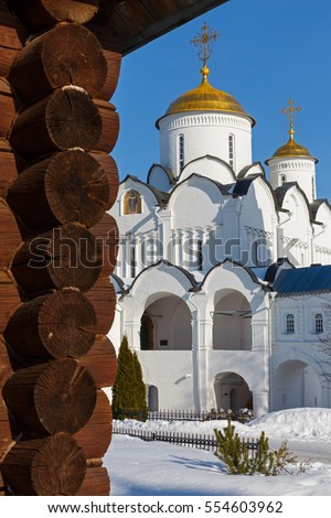 Intercession Cathedral in Suzdal, Russia