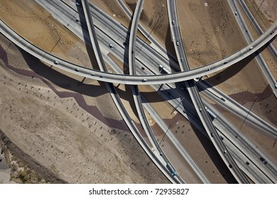 Interchange Tucson Aerial