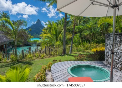 Intercontinental Thalasso borabora and otemanu mountain
